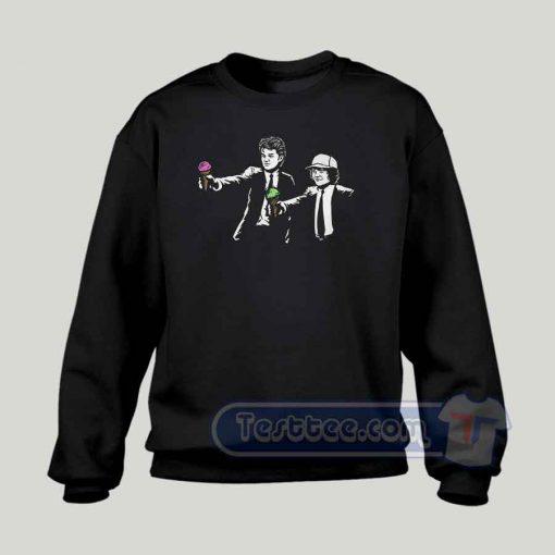 Scoop Fiction Stranger Things Graphic Sweatshirt