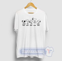 Snoopy Beagle Evolution Graphic Tees