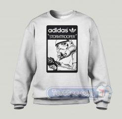 Stormtrooper Adidas Parody Sweatshirt