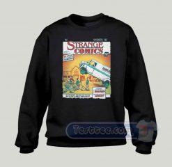 Strange Comics Graphic Sweatshirt