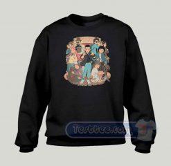 Stranger Anime Custom Graphic Sweatshirt