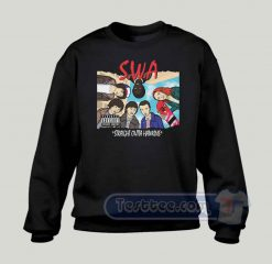 Stranger With Attitude Graphic Sweatshirt