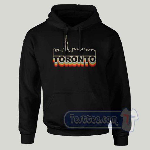 Toronto Skyline Graphic Hoodie