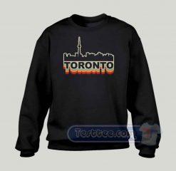 Toronto Skyline Graphic Sweatshirt
