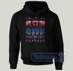 Ugly Stranger Things Graphic Hoodie