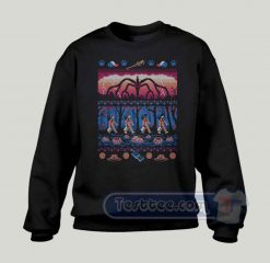 Ugly Stranger Things Graphic Sweatshirt