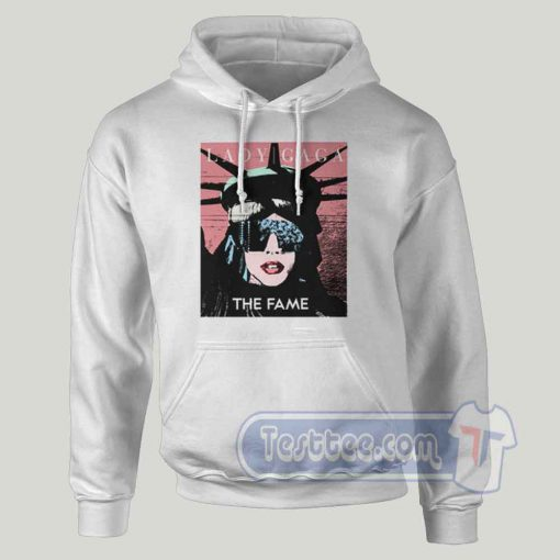 Lady Gaga The Statue Of Liberty Graphic Hoodie