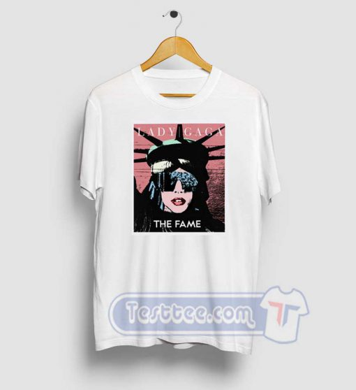 Lady Gaga The Statue Of Liberty Graphic Tees