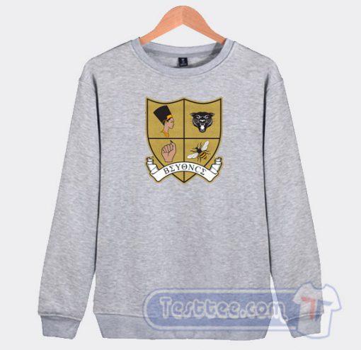 Beyonce Crest Graphic Sweatshirt