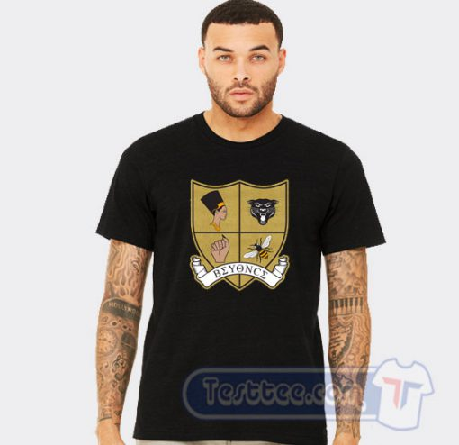 Beyonce Crest Graphic Tees