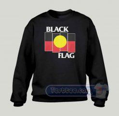 Black Flag Aboriginal X Flag Graphic Sweatshirt
