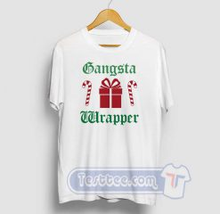 Gangsta Wrapper Christmas Graphic Tees