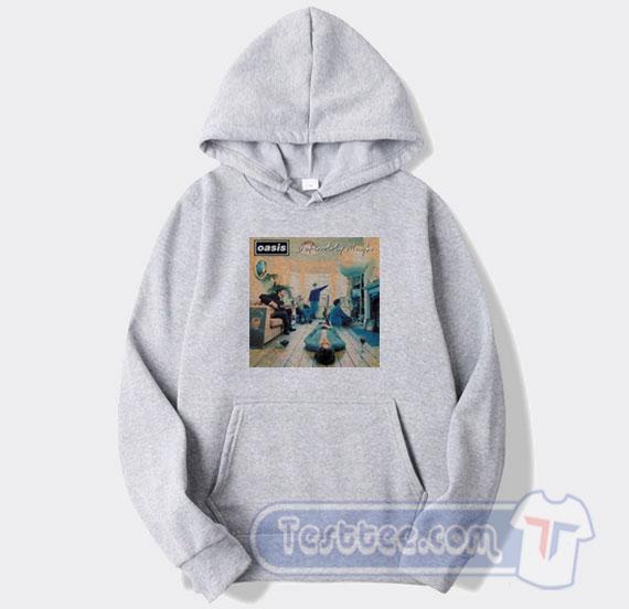 The Band Oasis Womens Long Sleeve Pullover Hoodie Pocket Sweatshirts
