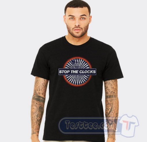 Oasis Stop The Clocks Graphic Tees