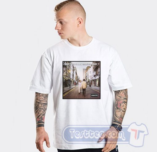 Oasis Whats The Story Morning Glory Graphic Tees