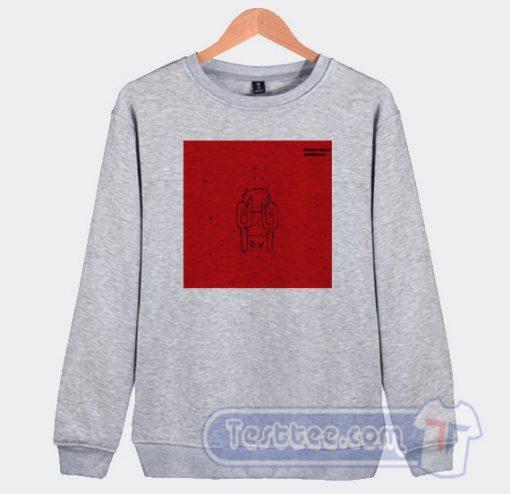 Radiohead Amnesiac Graphic Sweatshirt