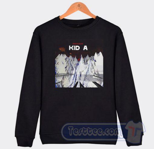Radiohead Kid A Graphic Sweatshirt