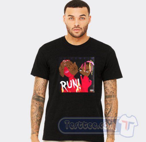 Run Juice Wrld Graphic Tees