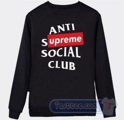Supreme ASSC Graphic Sweatshirt