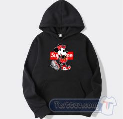 Supreme Minnie Mouse Disney Graphic Hoodie