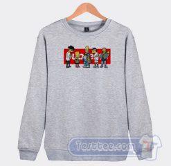 Supreme Simpson Graphic Sweatshirt