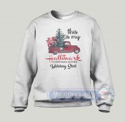 This Is Hallmark Christmas Movie Graphic Sweatshirt