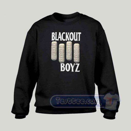 Blackout Boyz Graphic Sweatshirt