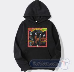 Kiss Hotter Than Hell Graphic Hoodie