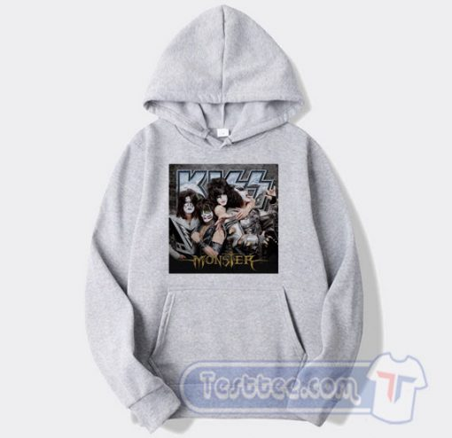 Kiss Monster Album Graphic Hoodie