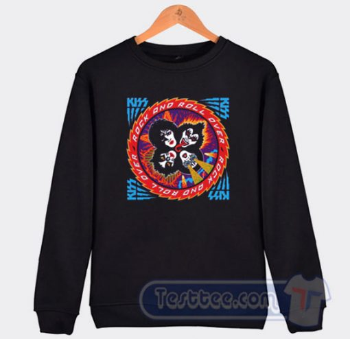 Kiss Rock And Roll Over Graphic Sweatshirt