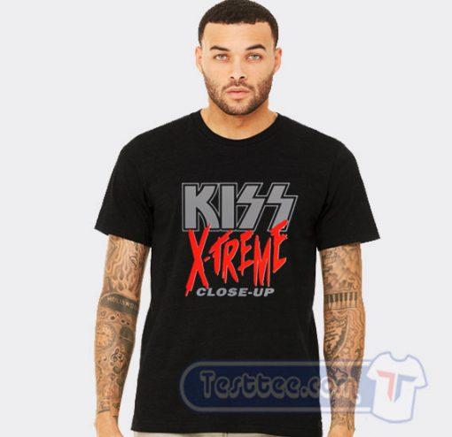 Kiss X Treme Close Up Graphic Tees