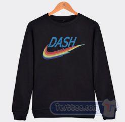 Rainbow Dash Nike Parody Graphic Sweatshirt