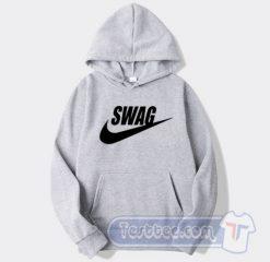 Swag Nike Parody Graphic Hoodie