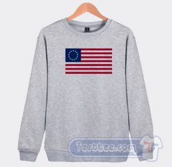Betsy Ross Flag Graphic Sweatshirt