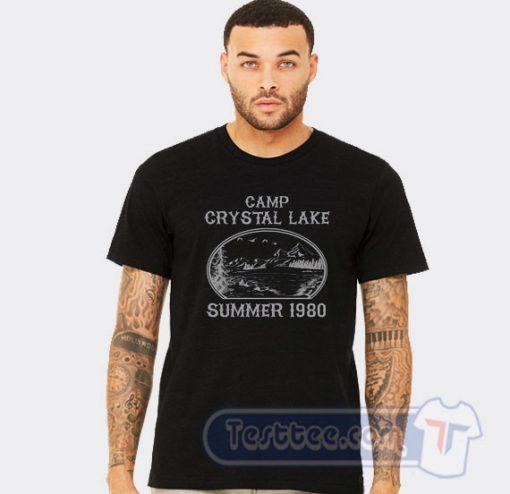 Camp Crystal Lake Friday 13th Graphic Tees
