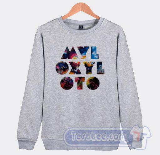 Coldplay Mylo Xyloto Graphic Sweatshirt