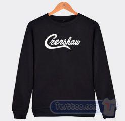 Crensaw California Poster Graphic Sweatshirt