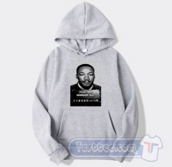 Martin Luther King Mugshot Graphic Hoodie