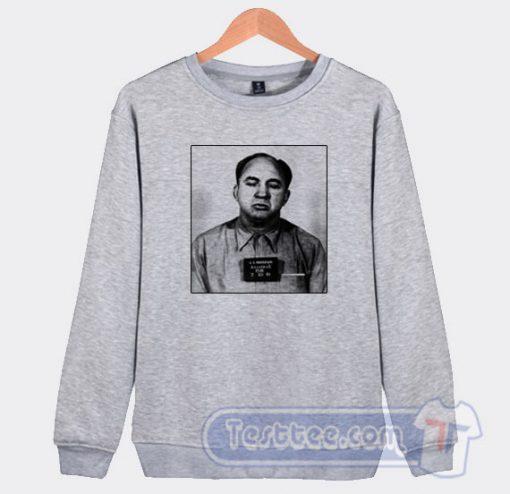 Mickey Cohen Mugshot Graphic Sweatshirt