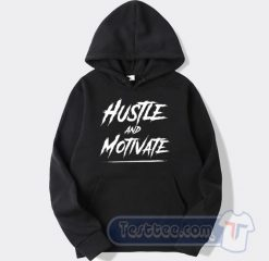 RIP Nipsey Hussle Hustle And Motivate Graphic Hoodie