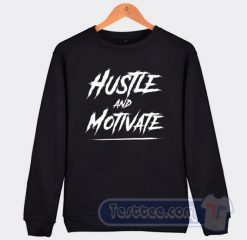 RIP Nipsey Hussle Hustle And Motivate Graphic Sweatshirt