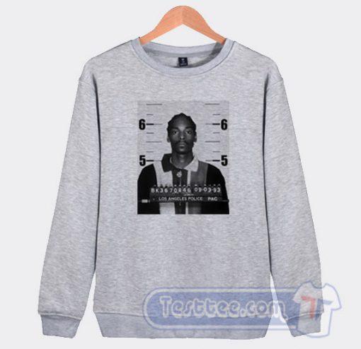 Snoop Dogg Mugshot Graphic Sweatshirt