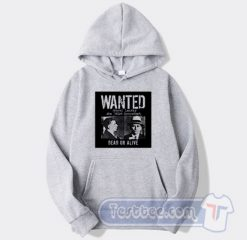 Wanted Meyer Lansky Mugshot Graphic Hoodie