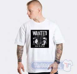 Wanted Meyer Lansky Mugshot Graphic Tees