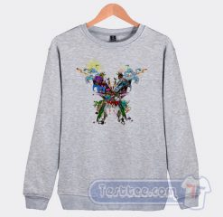 Coldplay Live In Buenos Aires Graphic Sweatshirt