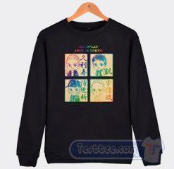 Coldplay Love In Tokyo Graphic Sweatshirt