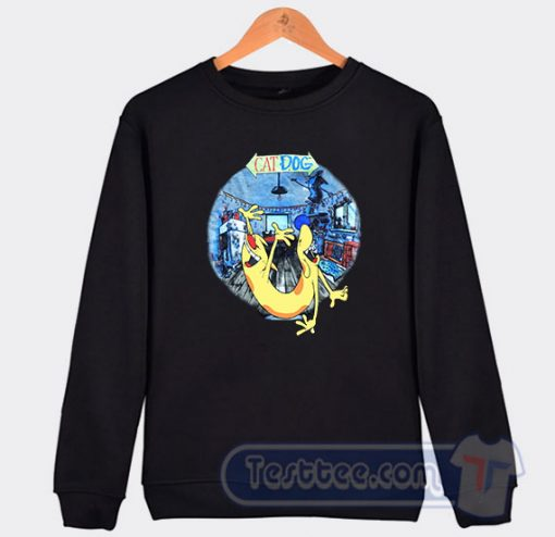 1999 CatDog Vintage Graphic Sweatshirt