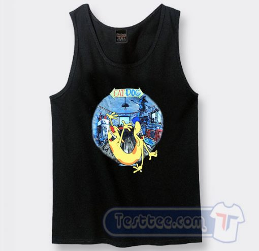 1999 CatDog Vintage Graphic Tank Top