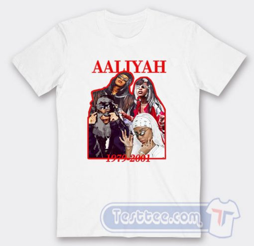 Aaliyah 1979-2001 Graphic Tees