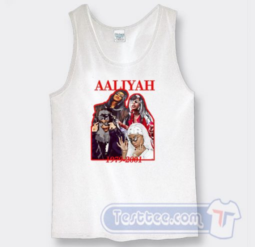 Aaliyah 1979-2001 Graphic Tank Top